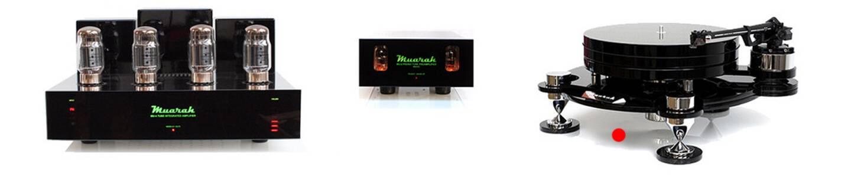 Muarah Audio Mr. Black Draaitafel